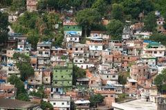 Favela in Rio De Janeiro Stock Image