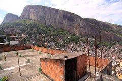 Favela in Rio de Janerio Stock Photos