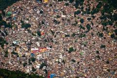 Favela Rocinha στο Ρίο ντε Τζανέιρο στοκ εικόνα