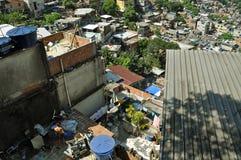 Favela Rocinha. Рио-де-Жанейро. Бразилия. Стоковое Фото