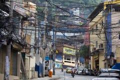 Favela Rocinha imagem de stock