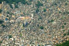 Favela Rocinha Royaltyfria Bilder