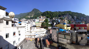 Favela Rocinha 免版税图库摄影