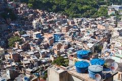 Favela Rocinha lizenzfreie stockfotografie