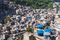 Favela Rocinha Fotografia de Stock Royalty Free