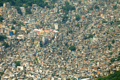 Favela Rocinha Royalty Free Stock Images