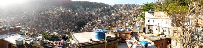Favela Rocinha, Rio de Janeiro Stock Images
