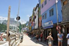 Favela Rocinha. Rio De Janeiro. Brazil. Royalty Free Stock Photos