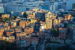 Favela Santa Τερέζα στο Ρίο ντε Τζανέιρο Στοκ Εικόνα