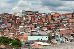 Favela in Sao Paulo Stock Photos