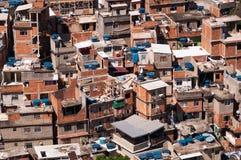 Favela van Rio DE janeiro stock foto