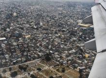 Favela von Rio de Janeiro Stockfotos