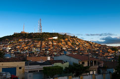 Favelas in Brazil Stock Images