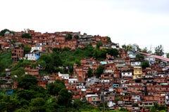 Favelas de Rio de Janeiro Images libres de droits
