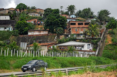 Brazilian Favelas Royalty Free Stock Photos