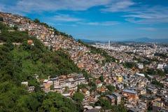 Favelas of Rio de Janeiro Stock Photos