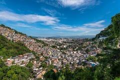 Favelas of Rio de Janeiro Royalty Free Stock Photos