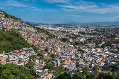 Favelas of Rio de Janeiro Royalty Free Stock Photo