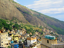 Favelas Rio de Janeiro, Brazil Royalty Free Stock Image