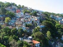 Favelas of Rio de Janeiro in Brazil Stock Photos