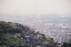 Favelas of Rio Stock Image