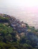 Favelas of Rio Royalty Free Stock Photos