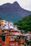 Favelas, slum dwellings on hills in Rio de Janeiro, Brazil Stock Photo