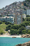 Favella έξω από το Ρίο de Janieo, Βραζιλία στοκ εικόνες με δικαίωμα ελεύθερης χρήσης