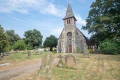 Faversham的,英国石教会 库存图片
