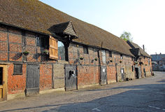 Faversham ancient storehouses Royalty Free Stock Photography