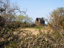 FAVERSHAM, KENT/UK - MARCH 29 : Old United Fertiliser building c Royalty Free Stock Photo