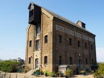 FAVERSHAM, KENT/UK - MARCH 29 : Old United Fertiliser building c Stock Photo