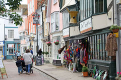 Faversham old town shops Stock Photography