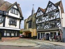 Faversham Town Centre Royalty Free Stock Photos