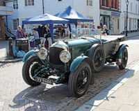 Faversham vintage car rally Royalty Free Stock Photography