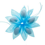 Faveur bleue de confettis photographie stock