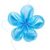 Faveur bleue de confettis photo libre de droits