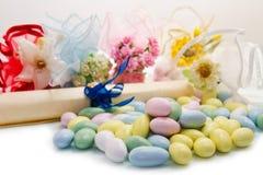 Faveur colorée différente de sucrerie photo libre de droits