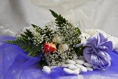 Faveurs 020 de mariage Photos libres de droits