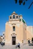 Церковь Favignana, Сицилия Стоковые Фото