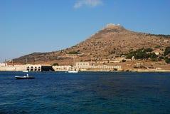 Favignana - Aegadian öar (Sicily) Arkivbilder