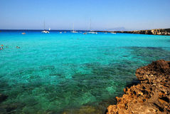 Favignana - Aegadian Islands Royalty Free Stock Photos