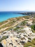 Favignana beach Stock Photos