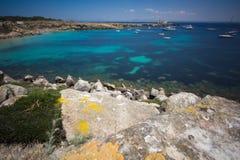 Favignana beach Royalty Free Stock Images