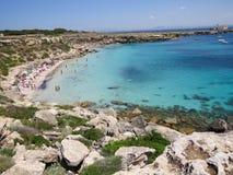 Favignana beach Stock Photo