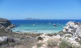 Favignana - Cala Rossa Royalty Free Stock Photography