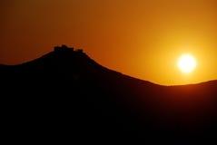 Favignana (consoles de Egadi) - por do sol Fotos de Stock
