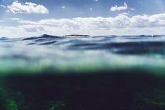 Favignana exterior subaquático Imagens de Stock