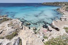 FAVIGNANA ISLAND, SICILY stock photo