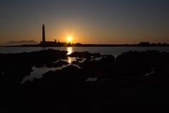 Favignana lighthouse Royalty Free Stock Images
